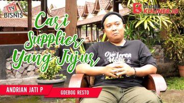 Tips Produksi Bisnis Kuliner, Langsung Dari Owner Goebog Resto