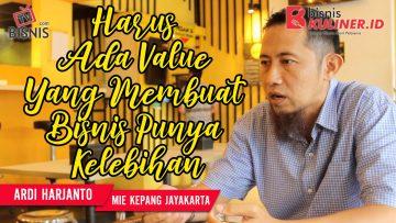 Tips Pemasaran Bisnis Kuliner, Langsung Dari Owner Mie Kepang