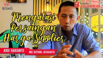 Tips Produksi Bisnis Kuliner, Langsung Dari Owner Mie kepang