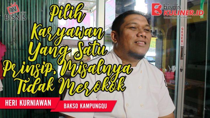 Tips Manajemen SDM Bisnis Kuliner, Langsung Dari Owner Bakso KampungQ