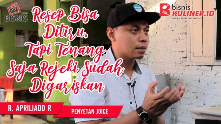 Tips Resep Bisnis Kuliner, Langsung Dari Owner Penyetan Joice
