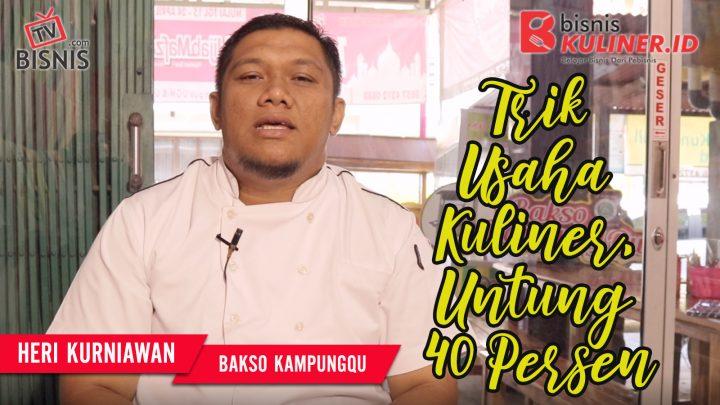 Tips Keuangan Bisnis Kuliner, Langsung Dari Owner Bakso KampungQ